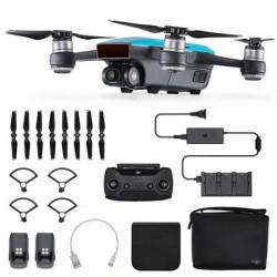 DJI SPARK Fly More Combo Sky Blue drón + ajándék SKIN matrica - DJI drónok - DJI drónok DJI