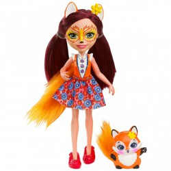 EnchanTimals Felicity Fox figura - EnchanTimals babák, játékok - EnchanTimals babák, játékok EnchanTimals