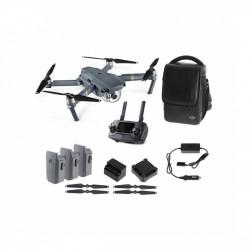 DJI MAVIC PRO FLY COMBO drón, összehajtható, távirányítóval + ajándék propeller védő - DJI drónok - DJI drónok DJI