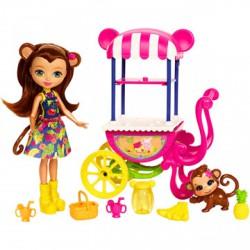 EnchanTimals Merit Monkey játékszett - EnchanTimals babák, játékok - EnchanTimals babák, játékok EnchanTimals