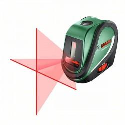 Bosch UniversalLevel 2 Set, keresztvonalas szintezőlézer állvánnyal, szett 0603663801 - Mérőműszerek - Bosch termékek Bosch