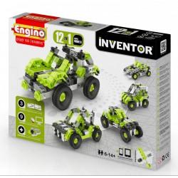 Engino Inventor 12 az 1-ben építőjáték - Autók - ENGINO építőjátékok - Építőjátékok Engino