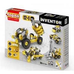 Engino Inventor 12 az 1-ben építőjáték - Ipari járművek - ENGINO építőjátékok - Építőjátékok Engino