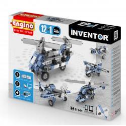 Engino Inventor 12 az 1-ben építőjáték - Légi járművek - ENGINO építőjátékok - Építőjátékok Engino