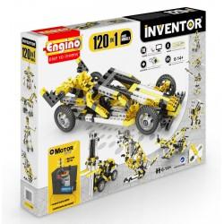 Engino Inventor 120 az 1-ben építőjáték - Motorizált multi modellek - ENGINO építőjátékok - Építőjátékok Engino