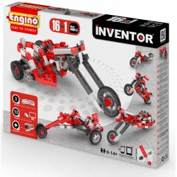 Engino Inventor 16 az 1-ben építőjáték - Motorok - ENGINO építőjátékok - Építőjátékok Engino