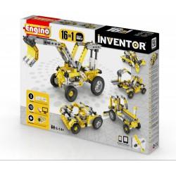Engino Inventor 16 az 1-ben építőjáték - Ipari járművek - ENGINO építőjátékok - Építőjátékok Engino