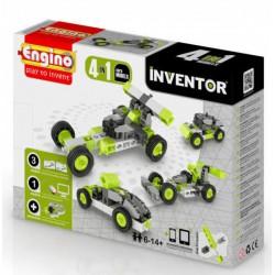 Engino Inventor 4 az 1-ben építőjáték - Autók - ENGINO építőjátékok - Építőjátékok Engino