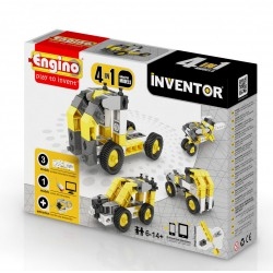 Engino Inventor 4 az 1-ben építőjáték - Ipari járművek - ENGINO építőjátékok - Építőjátékok Engino