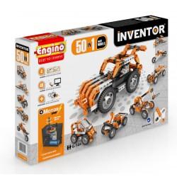 Engino Inventor 50 az 1-ben építőjáték - Motorizált multi modellek - ENGINO építőjátékok - Építőjátékok Engino