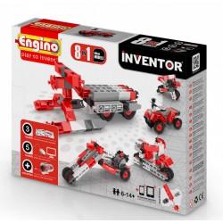 Engino Inventor 8 az 1-ben építőjáték - Motorok - ENGINO építőjátékok - Építőjátékok Engino