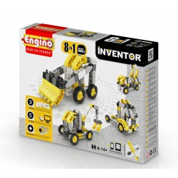 Engino Inventor 8 az 1-ben építőjáték - Ipari járművek - ENGINO építőjátékok - Építőjátékok Engino