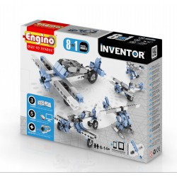 Engino Inventor 8 az 1-ben építőjáték - Légi járművek - ENGINO építőjátékok - Építőjátékok Engino