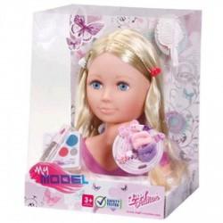 My Model sminkelhető babafej - Zapf Creation játékok ( Baby Born ) - Lányos játékok Baby Born