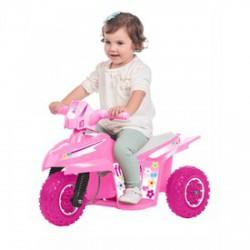 Elektromos kismotor - 6V, rózsaszín - Járművek - Bébijátékok