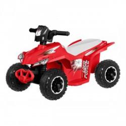 Elektromos quad - 6V, piros - Járművek - Bébijátékok