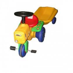 Pedálos kerti traktor utánfutóval - Járművek - Járművek