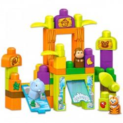 Mega Bloks Barátságok a szafariban - 45 darabos építőkocka készlet - Mega Bloks bébijátékok - Bébijátékok Mega Bloks