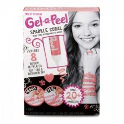 Gel-a-Peel Kezdő szett - Csillámló Korall - Gel-a-Peel játékok - Gel-a-Peel játékok Gel-a-Peel