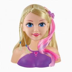 Sparkle Girlz fésülhető szőke hajú babafej - Sparkle Girlz játékok - Lányos játékok Sparkle Girlz