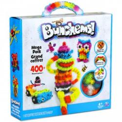 Bunchems Mega Pack színes formázó készlet - 400 db, többféle változatban - Bunchems kreatív építőjátékok - Építőjátékok Bunchems