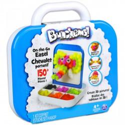 Bunchems 3D képkészítő utazó készlet - 150 db - Bunchems kreatív építőjátékok - Építőjátékok Bunchems