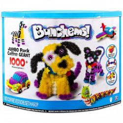 Bunchems Jumpo Pack 1000 darabos színes formázó készlet - Bunchems kreatív építőjátékok - Építőjátékok Bunchems