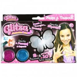 Glitza körömtetováló szett - Glitza játékok - Glitza játékok Glitza