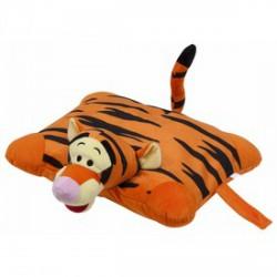Tigris 2 az 1-ben plüss párna - 42x36cm - Díszpárnák - Díszpárnák