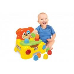 Clemmy Baby kutyusos székecske - Clemmy bébijátékok - Bébijátékok Clemmy