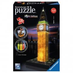 Ravensburger Puzzle 3D 216 db Big Ben világító - RAVENSBURGER játékok - Kirakók, puzzle-ok Ravensburger