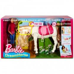 Barbie Dreamhorse Barbie fehér lóval - Barbie babák - Barbie babák Barbie