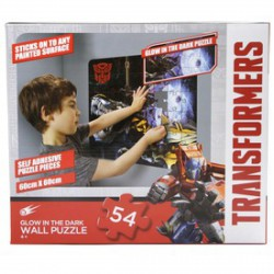 Transformers sötétben világító fali puzzle - Kirakók, puzzle-ok - Kirakók, puzzle-ok Transformers