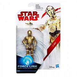 STAR WARS Force Link EPIZÓD 8. C-3PO Deluxe figura 10 cm - Star wars játékok - Star wars játékok Star Wars