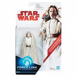 STAR WARS Force Link EPIZÓD 8. Luke Skywalker Deluxe figura 10 cm - Star wars játékok - Star wars játékok Star Wars