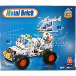 Terepjáró 195 darabos fém építőjáték - Fémépítők - Építőjátékok
