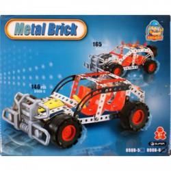 Terepjáró autó 165 darabos fém építőjáték - Fémépítők - Építőjátékok