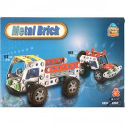 Teherautó 112 darabos fém építőjáték - Fémépítők - Építőjátékok