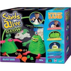 Sands Alive Glow világító szörnyecskék homokgyurma készlet - Sands Alive készletek - Sands Alive készletek Sands Alive