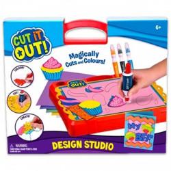 Cut it Out! kreatív stúdió készlet - Cut it Out! kreatív játékok - Cut it Out! kreatív játékok Cut it Out!
