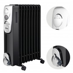 Ardes 4R09B Olajradiátor -Hősugárzók, elektromos kandallók -Hősugárzók, elektromos kandallók Ardes