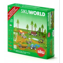 SIKU World 5699 kiegészítő erdő - SIKU modellautók - Pályák, kisautók Siku