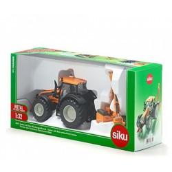 Siku 3659 trakor Kuhn fűnyíróval 1:32 - SIKU modellautók - Pályák, kisautók Siku