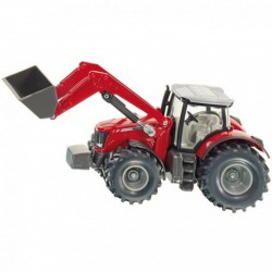 Siku 1985 Massey Ferguson 8690 traktor markolóval 1:50 - SIKU modellautók - Pályák, kisautók Siku