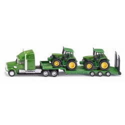 Siku 1837 Kamion John Deere traktorokkal 1:87 - SIKU modellautók - Pályák, kisautók Siku