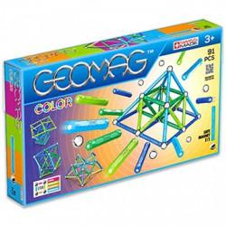 Geomag 91 darabos színes mágneses építőjáték készlet - Geomag építőjátékok - Építőjátékok Geomag
