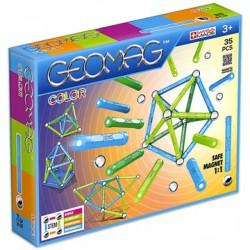 Geomag 35 darabos színes mágneses építőjáték készlet - Geomag építőjátékok - Építőjátékok Geomag