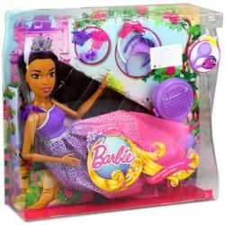Barbie Végtelen Csodahaj Királyság barna Barbie - 43 cm - Barbie babák - Barbie babák Barbie