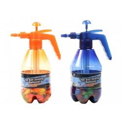 Vízibomba lufi készlet töltő tartállyal - többféle színben - Kerti és vízes játékok - Kerti és vízes játékok