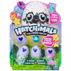 Hatchimals Colleggtibles gyűjthető figurák tojásban 4-es csomag - Hatchimals plüssök tojásban - Hatchimals plüssök tojásban Hatchimals